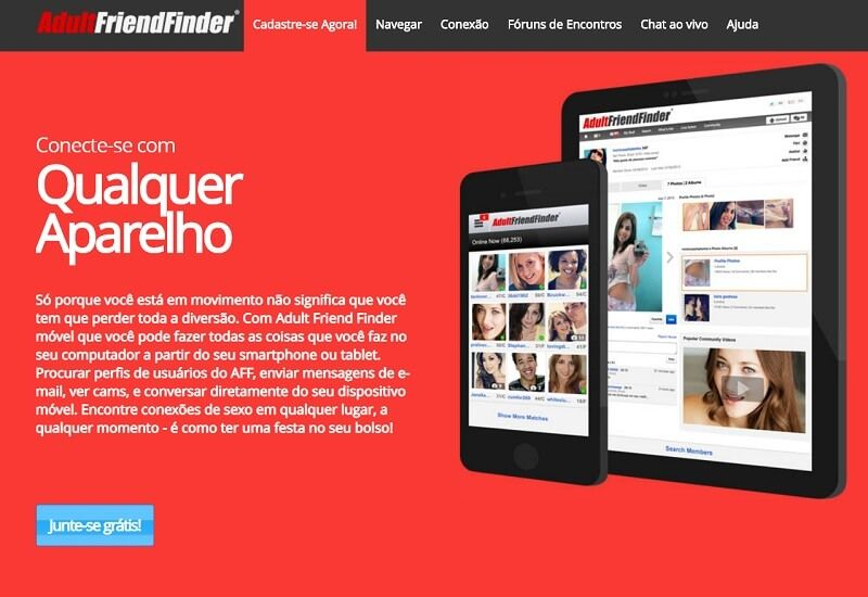 site adult friend finder: melhores sites de swing