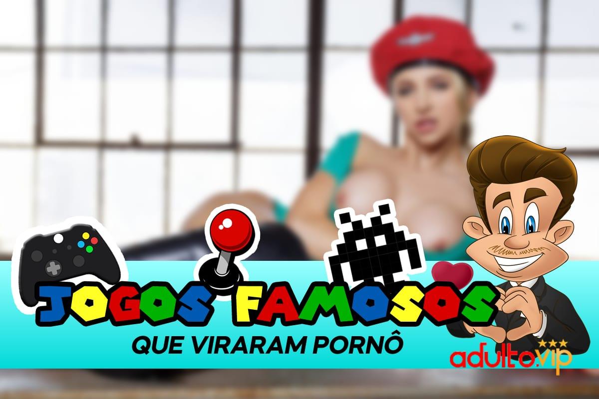 Jogos famosos que viraram paródias pornô
