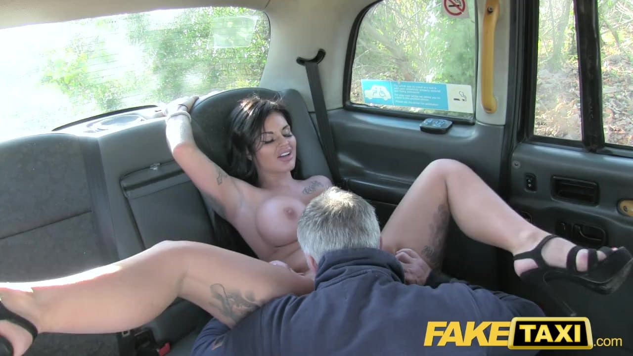 Fake Taxi Frustrated busty Candy Sexton wants drivers big cock - RedTube