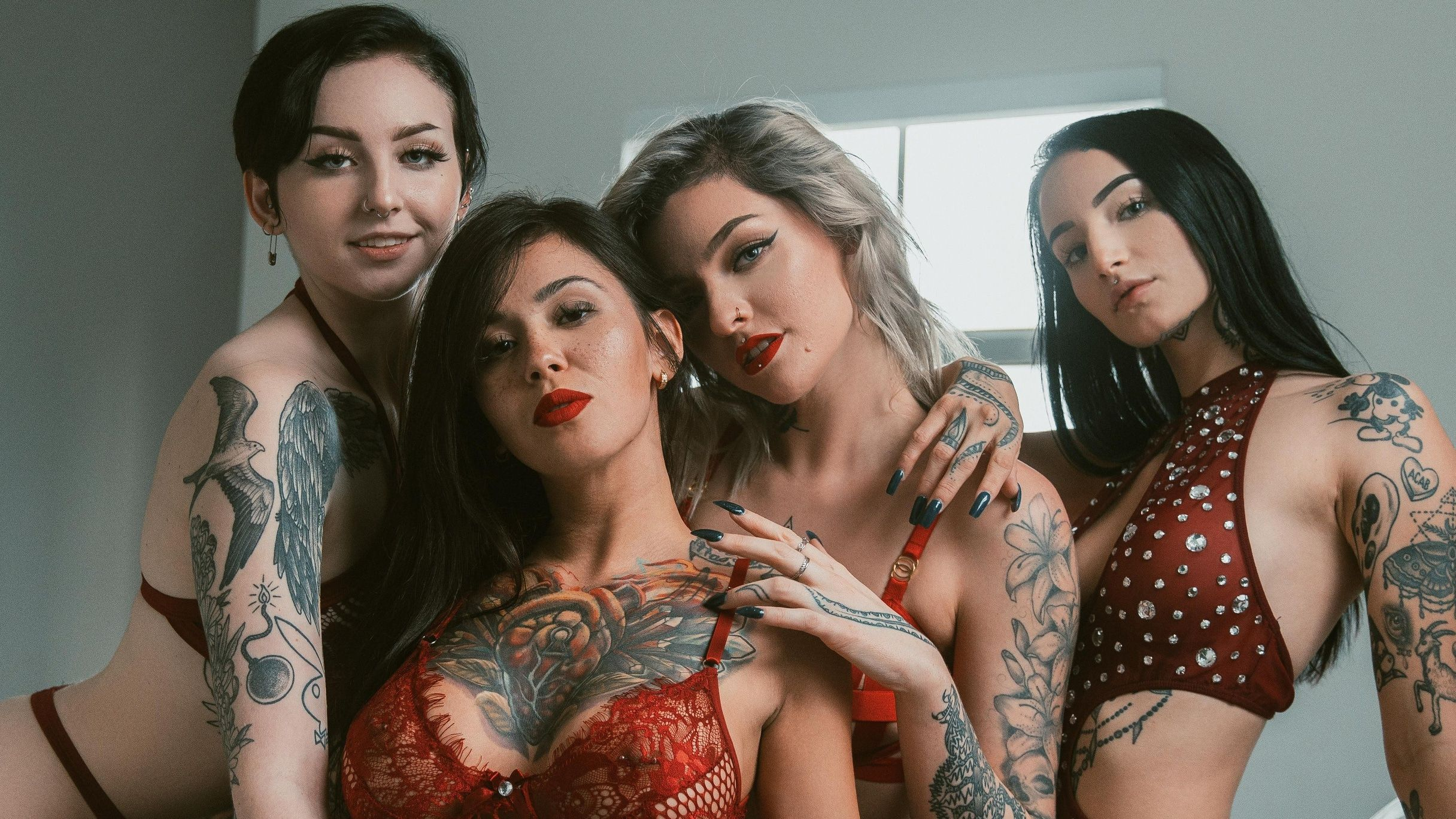 Suicide Girls: O site