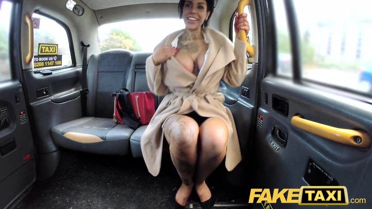 Fake Taxi Tattoos Big Juicy Tits and Long Legs gets Anal pt