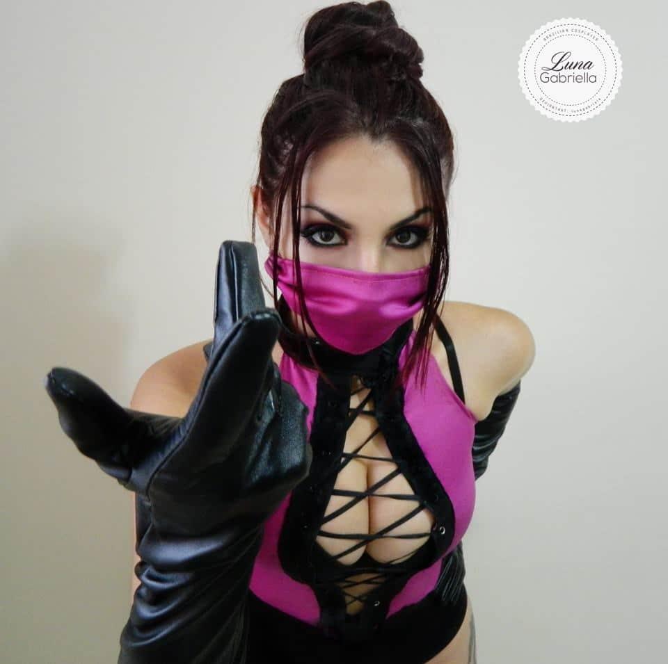 mileena cosplay sexy gata Luna Gabriella | Afontegeek