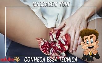 Massagem Yoni - Conheça essa técnica